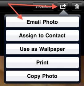 eMail een Screenshot