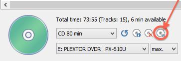 CD/DVD Brander opties