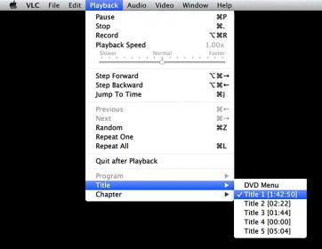 VLC MacOS X - De titel die we zochten