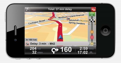 iPhone met TomTom