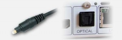 Optisch of TosLink voor digitale audio