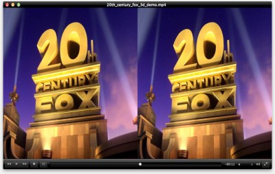 20th Century Fox - Kleine Side by Side 3D Demo