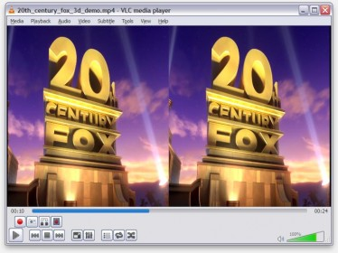 Open de SBS 3D Film in VLC