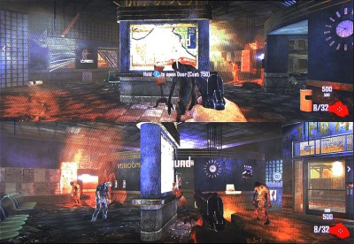 COD: Black Ops II - Split screen start