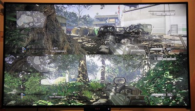 COD: Ghosts - Split-screen mode