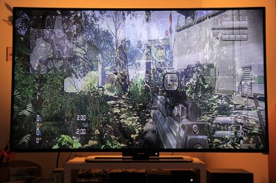 COD: Ghosts - zet de TV of TB 3D