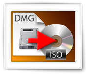 Converteer DMG naar ISO (MacOS X, Windows of Linux)