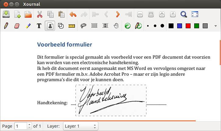 handtekening invoegen pdf