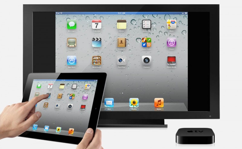 iPad/iPhone beeld op de TV met AirPlay en een AppleTV