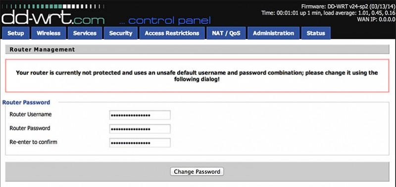 NetGear R7000 - Eerste login