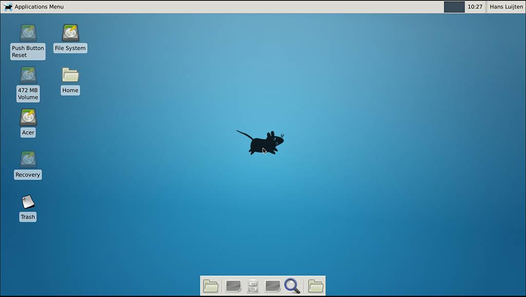 xRDP - xfce4 Desktop