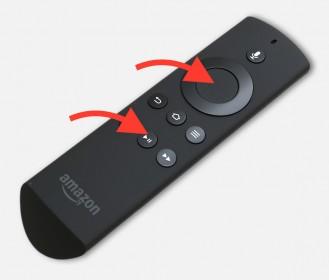 Amazon Fire TV herstarten via de afstandsbediening