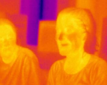 Infrarode straling in beeld
