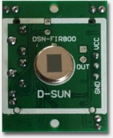 PIR Sensor - De sensor bloodgesteld
