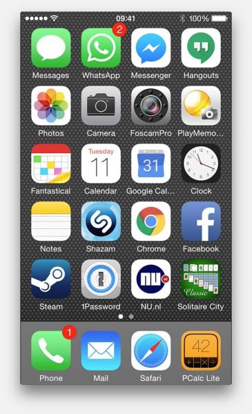 iOS scherm is nu zichtbaar op de Mac