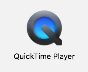 Start QuickTime Player