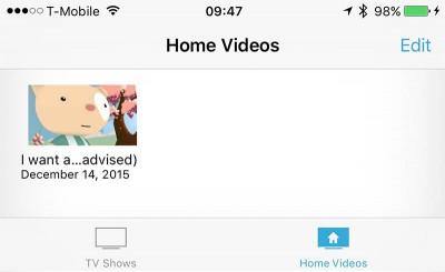 YouTube Videos op jouw iOS device