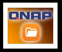 QNAP FTP Client met behulp van File Station