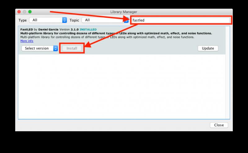 Arduino IDE - Bibliotheek toevoegen