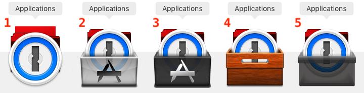MacOS - Stack Overlay voorbeelden