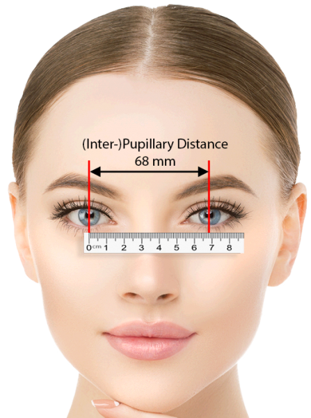 IPD (Inter-pupillary-distance)