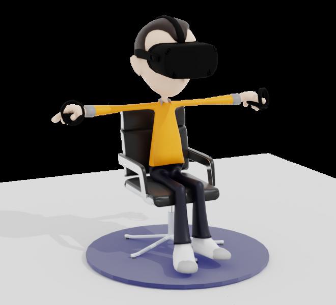 VR zittend spelen