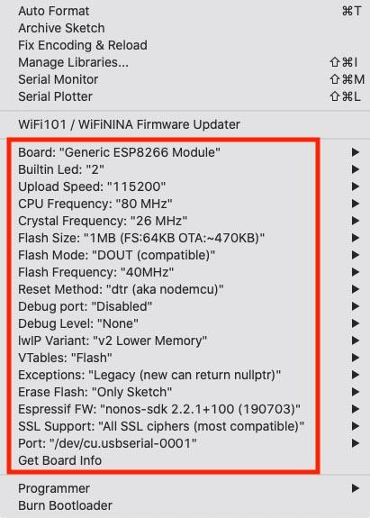 Generic ESP8266 - Een berg extra opties!