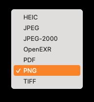 Ondersteunde Export Formaten